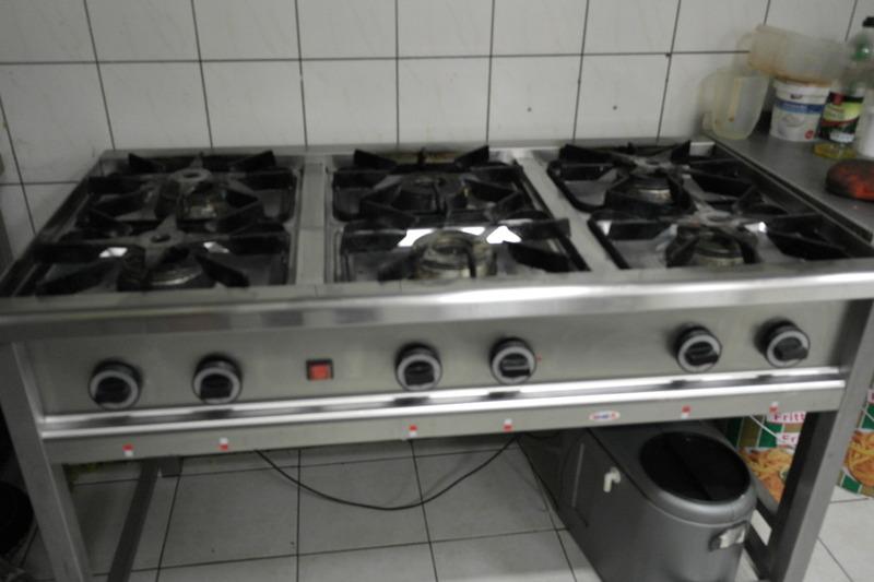 Gastronomiczna Kuchnia gazowa ElGaz 6 palnikowa « Oferta « Gieldaspozywcza pl -> Kuchnia Gazowa Gastronomiczna Używana